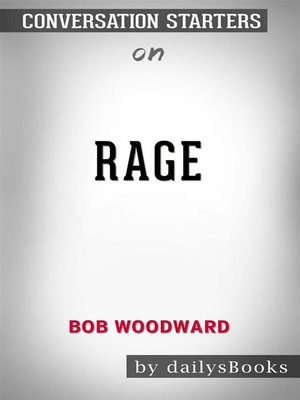 cover image of Rage bybob woodward--Conversation Starters