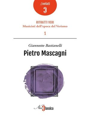 cover image of Pietro Mascagni