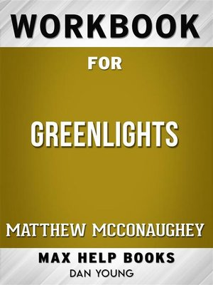 cover image of Workbook for Greenlights by Matthew McConaughey (Max Help Workbooks)