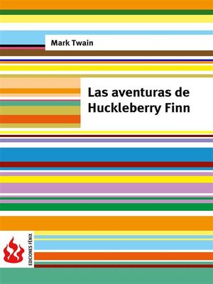 cover image of Las aventuras de Huckleberry Finn (low cost).