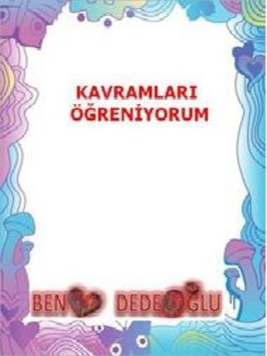 cover image of Kavramlar