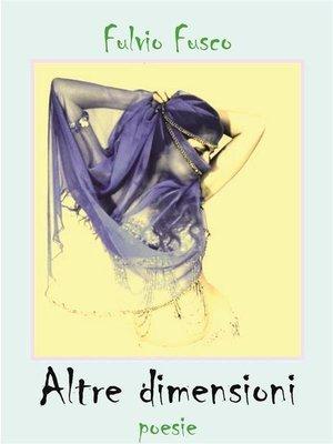 cover image of Altre dimensioni