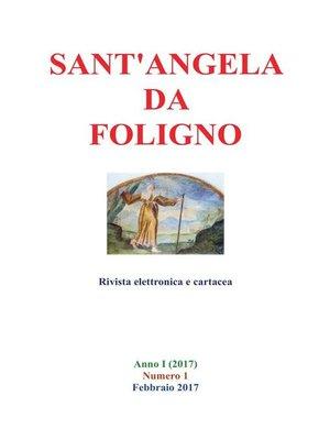cover image of Sant'Angela da Foligno
