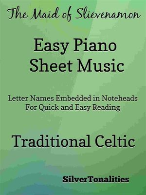 cover image of The Maid of Slievenamon Easy Piano Sheet Music
