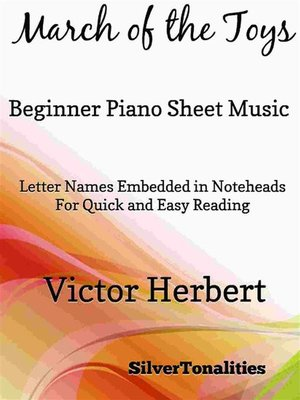 cover image of March of the Toys Beginner Piano Sheet Music
