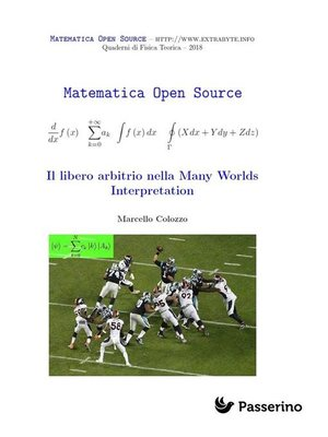 cover image of Il libero arbitrio nella Many Worlds Interpretation