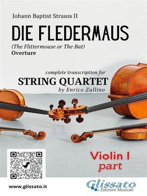 cover image of Die Fledermaus (overture) string quartet set of parts