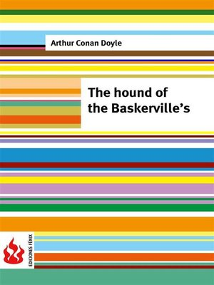 cover image of The hound of the Baskerville's (low cost). Limited edition
