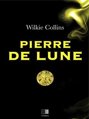 cover image of La pierre de lune