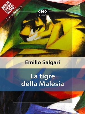 cover image of La tigre della Malesia