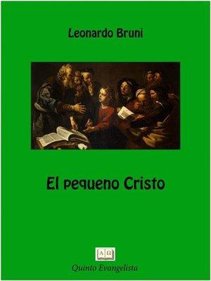 cover image of El Pequeño Cristo