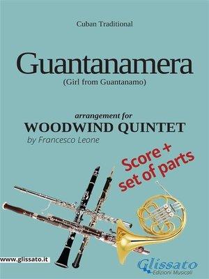 cover image of Guantanamera--Woodwind Quintet score & parts