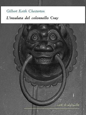 cover image of L'insalata del colonnello Cray