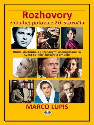 cover image of Rozhovory z Druhej Polovice 20. Storočia