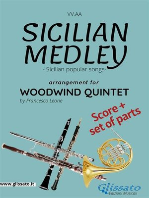 cover image of Sicilian Medley--Woodwind Quintet score & parts