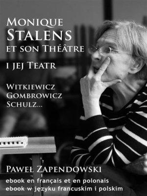 cover image of Monique Stalens et son Théâtre.