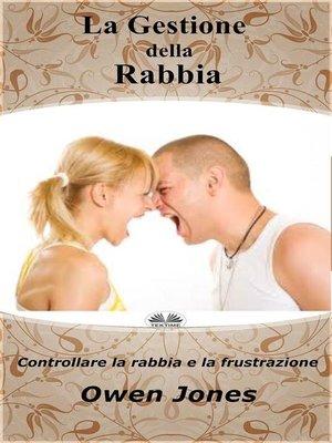 cover image of La Gestione Della Rabbia