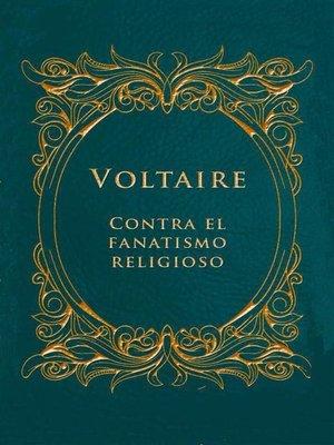 cover image of Contra el fanatismo religioso