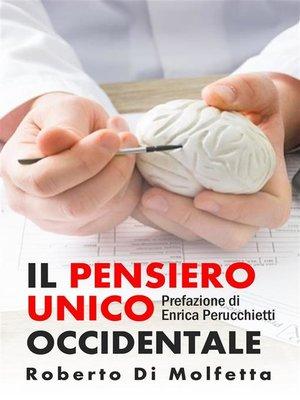 cover image of Il Pensiero Unico Occidentale