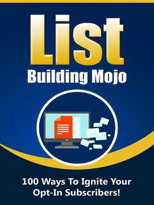cover image of List Building Mojo V2