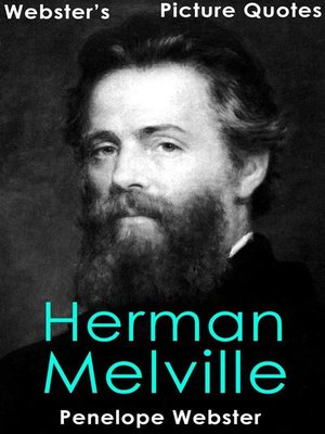 cover image of Webster's Herman Melville Picture Quotes