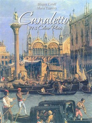 cover image of Canaletto--193 Colour Plates
