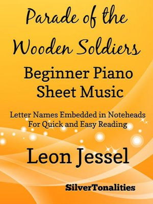 cover image of Parade of the Wooden Soldiers Beginner Piano Sheet Music