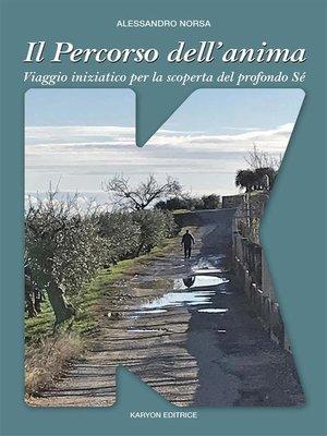 cover image of Il Percorso dell'anima