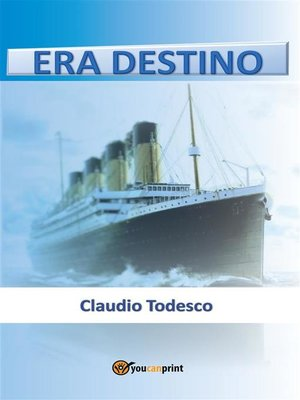 cover image of Era destino