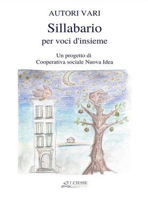 cover image of Sillabario per voci d'insieme