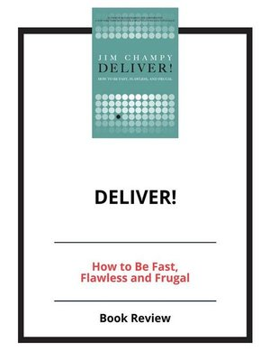 cover image of DELIVER!