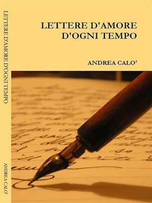cover image of Lettere d'amore d'ogni tempo