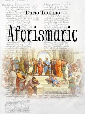 cover image of Aforismario