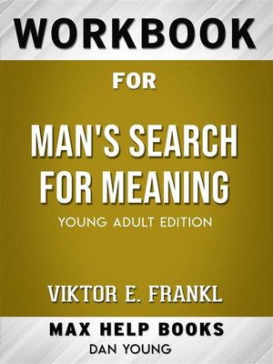cover image of Workbook for Man's Search for Meaning--Young Adult Edition by Viktor E. Frankl