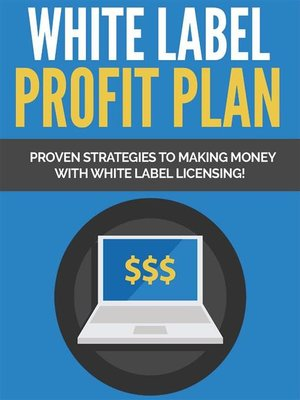 cover image of White Label Profit Plan