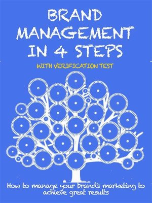 cover image of Brand management in 4 steps