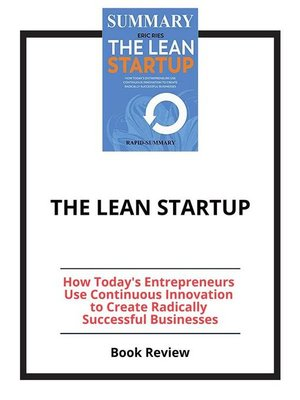 cover image of The Lean Startup