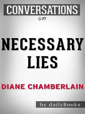 cover image of Necessary Lies--by Diane Chamberlain