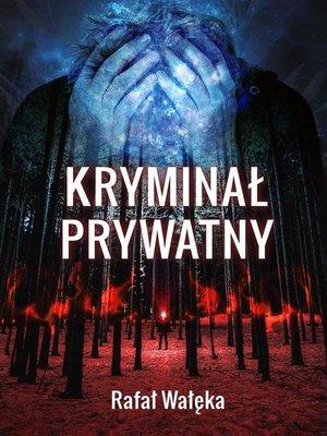 cover image of Kryminał prywatny