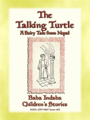 cover image of THE TALKING TURTLE--or the turtle who talked too much