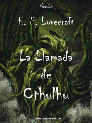 cover image of La Llamada de Chtulhu