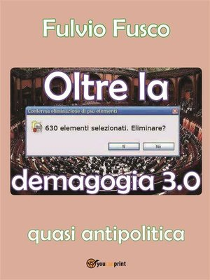 cover image of Oltre la demagogia 3.0