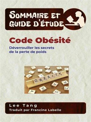 cover image of Sommaire Et Guide D'Étude – Code Obésité