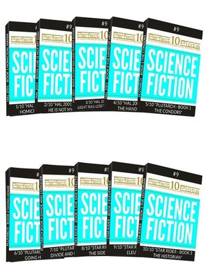 cover image of Perfect 10 Science Fiction Plots #9 Complete Collection