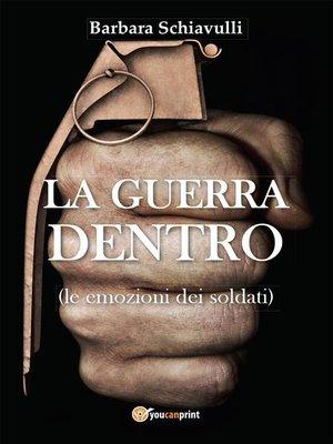 cover image of La guerra dentro