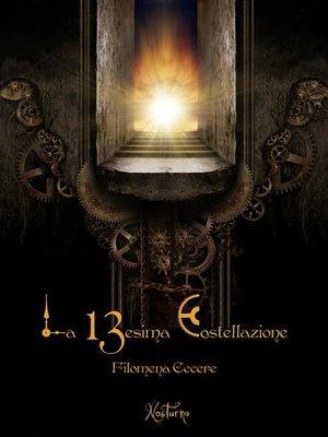 cover image of La tredicesima costellazione