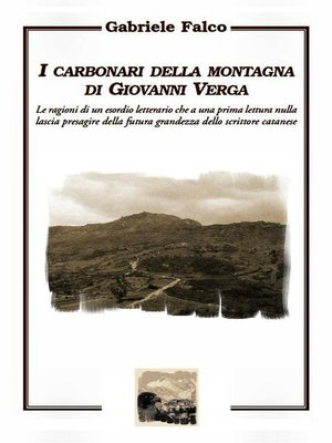 cover image of I carbonari della montagna di Giovanni Verga