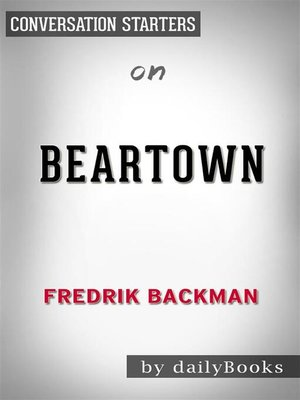 cover image of Beartown--by Fredrik Backman​​​​​​​