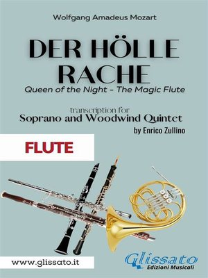 cover image of Der Holle Rache--Soprano and Woodwind Quintet (Flute)