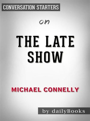 cover image of The Late Show--by Michael Connelly